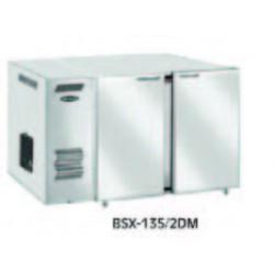 Chladící stůl barový s agregátem BS - 154/2DX
