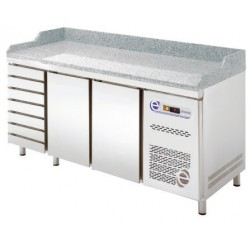 Pizza chladící stůl Edesa TP8-200-27D