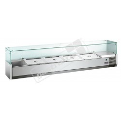 Pizza chladící vitrína MVRX1200-1/3