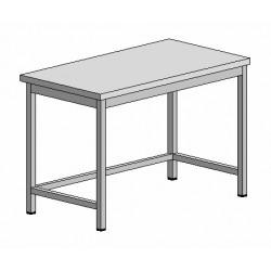 Pracovní nerez stůl 1000x700x900