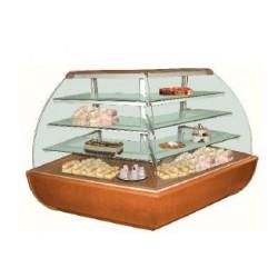 Cukrárenská vitrína Jamajka NZ 90 - rohový model