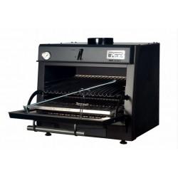 Pec na dřevěné uhlí PIRA 80 LUX Černá