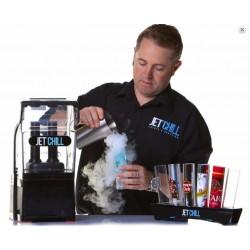 Výrobník kouřících drinků chlazených suchým ledem JETCHILL Twin Probe
