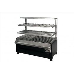 Gril stolní profi BBQ ROBATA SHASLIK ESP 80 Complet na dřevěné uhlí PIRA