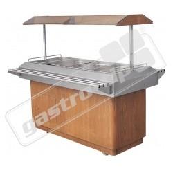 Vyhřívaný salátový bar HOT