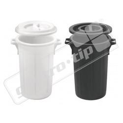 Koš na odpad s víkem 60 litrů