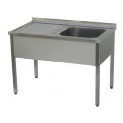 Pracovní stůl s dřezem 1000x600x850mm