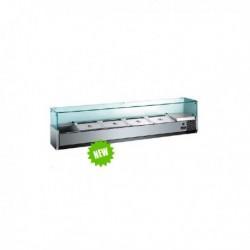 Pizza chladící vitrína MVRX1800-1/4GN
