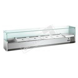 Pizza chladící vitrína MVRX1500-1/3